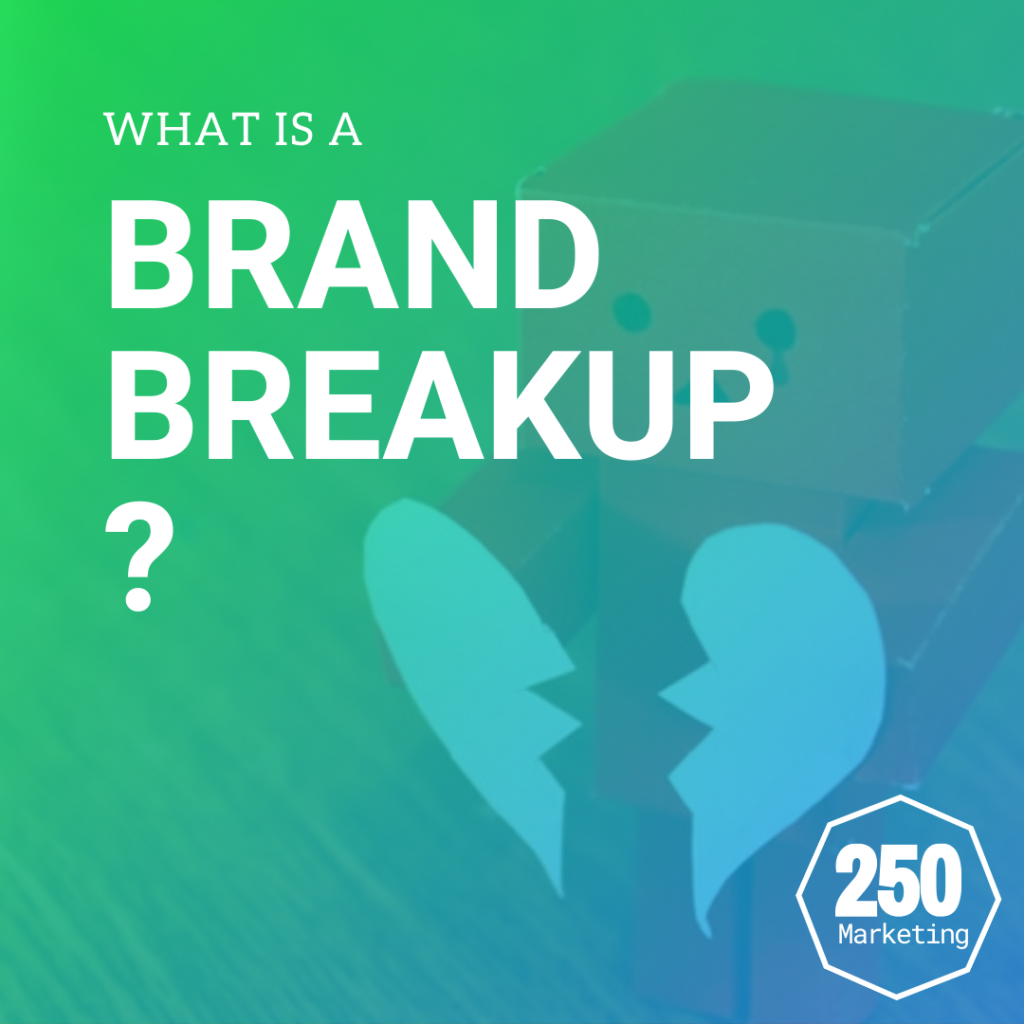 What is a brand breakup?
